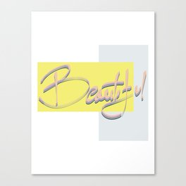 Beautiful #society6 #beautiful Canvas Print