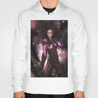 starcraft Hoodies featuring Kerrigan by Midnight Tardis