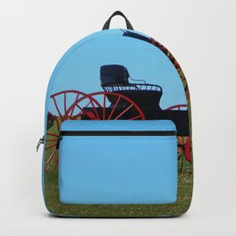 Horse Drawn Wagon Backpack