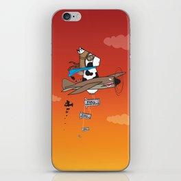 Muso Milkwar Aircraft iPhone Skin