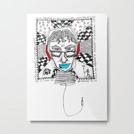 Genesidio Metal Print