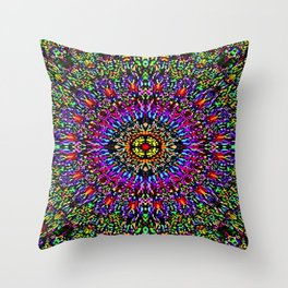 Mystic Luminous Scene Throw Pillow