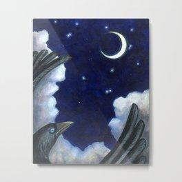 Journey to the Stars -The Groundbird Metal Print