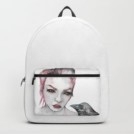 Lady and Crow Backpack