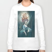 marie antoinette Long Sleeve T-shirts featuring Marie Antoinette by Iris Compiet