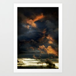 Gloomy Sky 0004 Art Print