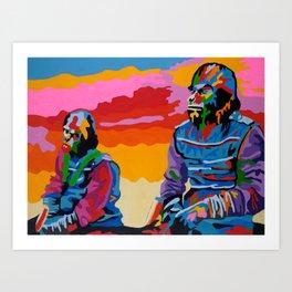 Magnificent Brutes Art Print