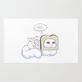 No Bread plz Rug