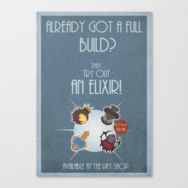 League of legends Elixir poster! Canvas Print