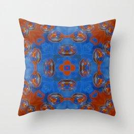 Kap Kaleidoscope Abstract 02 Throw Pillow
