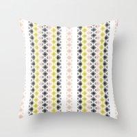 kilim Throw Pillows featuring Kilim 2 by 603 Creative Studio