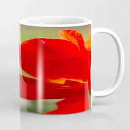Long Stem Red Rose Coffee Mug
