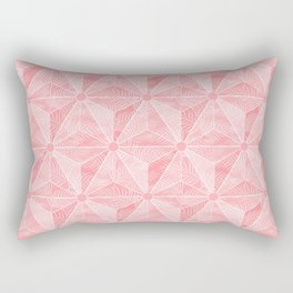 Gedesic Palm_Rose Rectangular Pillow