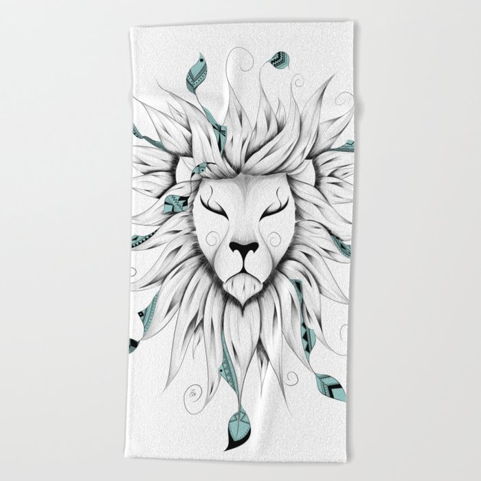 Poetic King Beach Towel