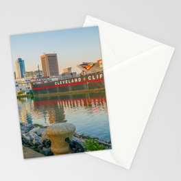 Cleveland Ohio Lake Erie View of City Stationery Cards
