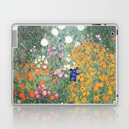Gustav Klimt Flower Garden Laptop & iPad Skin