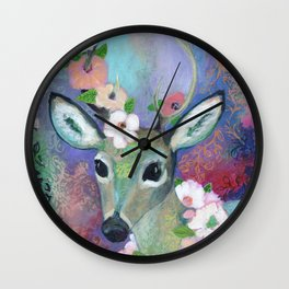 Forest Prince Wall Clock