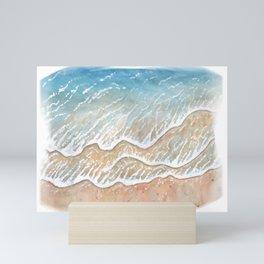 Beach Waves Mini Art Print