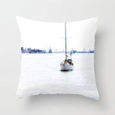 sail with me Throw Pillow
