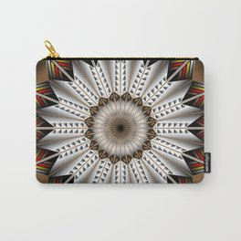 Feather Design Carry-All Pouch