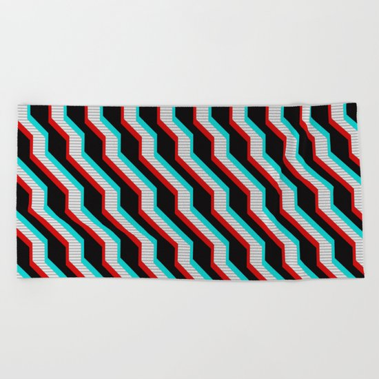min23 3D Beach Towel
