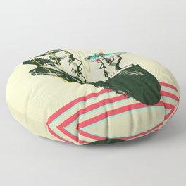 Hypnotic sardine  Floor Pillow