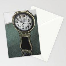 Clock Stationery Cards