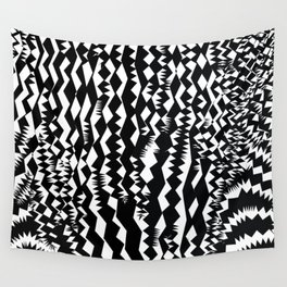 Zebra, abstract geometric pattern Wall Tapestry