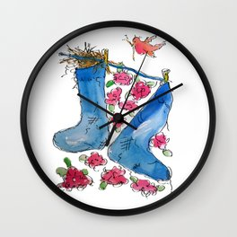 Find Your Home Wall Clock
