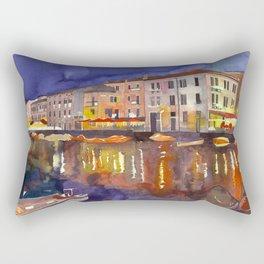 Night in Venice part 1 Rectangular Pillow