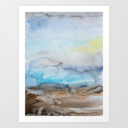 Color.Water.Sky. 6 Art Print