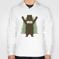 bear Hoodies featuring Bear Hug? by Fanboy30