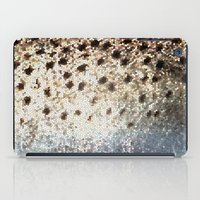 trout iPad Cases featuring Trout Scales by Mister Groom