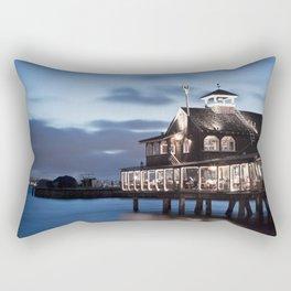 Evening Stillness Rectangular Pillow