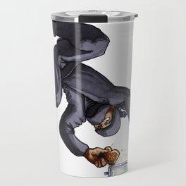 Ninja Making Toast Travel Mug