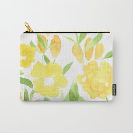 Yellow Summer Bouquet Carry-All Pouch