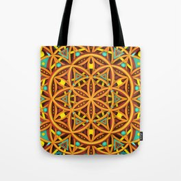 FLOMANDALA TWO Tote Bag