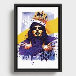Killer Queen Framed Canvas