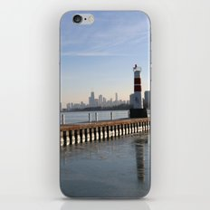 Montrose Harbor in the Winter iPhone & iPod Skin