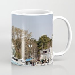 Bayou La Batre is a fishing village with a seafood-processing harbor for fishing boats and shrimp bo Coffee Mug