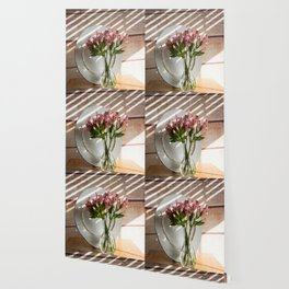 Bouquet and Plate Wallpaper