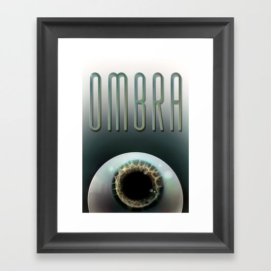 Ombra Framed Art Print