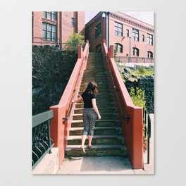 City Stairs Canvas Print