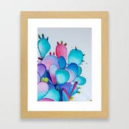 Cacti Frenzy Framed Art Print