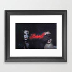 A freak like Lana Framed Art Print