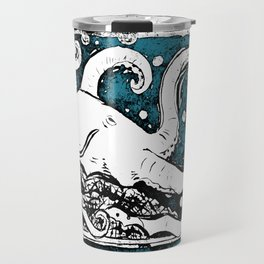 Shiny Metal Thing Octopus Travel Mug