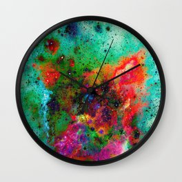 Everything is nothing 8 (therefore it was beautiful) Wall Clock