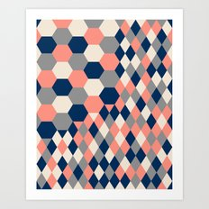 Honeycomb 2 Art Print