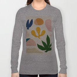 Abstraction_Floral_001 Long Sleeve T-shirt