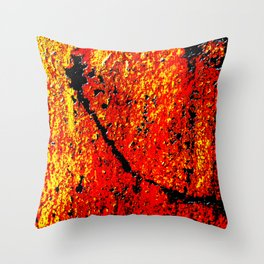 Metal Toxified Throw Pillow